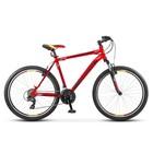 """Велосипед 26"""" Десна-2610 V, V010, цвет красный/черный, размер 16"""""""