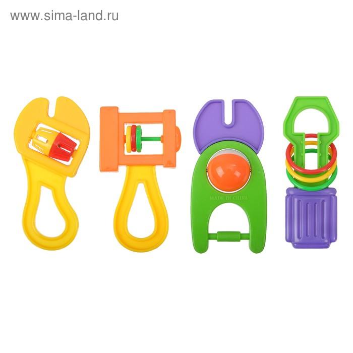 Набор погремушек «Инструменты», 4 шт.