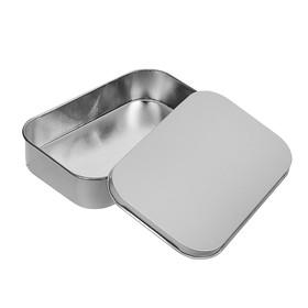 Подарочная коробка 'Серебро',9.5 х 6 х 2 см v-0,1 Ош