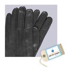 Сертификат на химчистку и покраску изделия из гладкой кожи: перчатки
