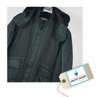 Сертификат на химчистку текстильных изделий: куртка утепленная на синтепоне, брюки утепленные, полупальто, плащ утепленный на синтепоне