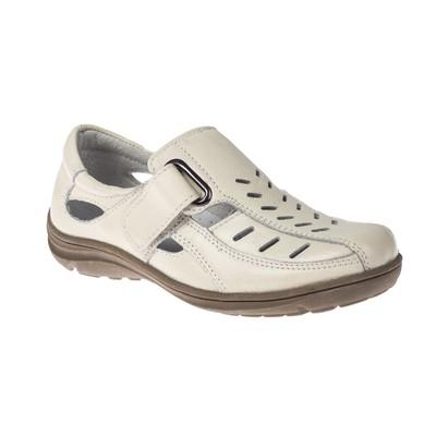 Туфли летние для мальчиков арт. SВ-23528, цвет белый, размер 35