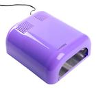 Лампа для гель-лака LuazON LUF-07, UV, 36 Вт, глянцевая, фиолетовая