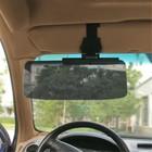 Экран для защиты от солнца, 32х18 см, на солнцезащитный козырек , темный