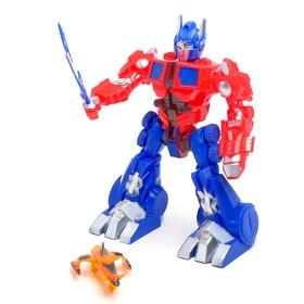 """Робот """"Оптикус"""", со световыми эффектами, работает от батареек"""