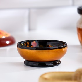 Солонка для каравая «Хохлома», 6,5 х 3 см