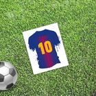 Открытка мини–формата одинарная «Лучший», футбол, 9 х 10 см