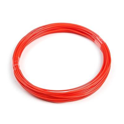 Пластик ABS, для 3Д ручки, длина 10 м, красный