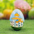 """Яйцо расписное """"Христос Воскресе!"""" 7 см"""