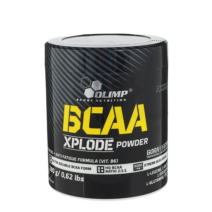 Аминокислоты BCAA OLIMP Xplode Powder, апельсин, 280 г