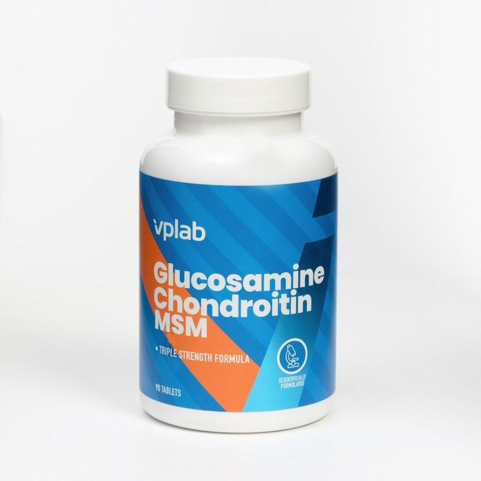 VPLab Глюкозамин Хондроитин MSM / 90 таб