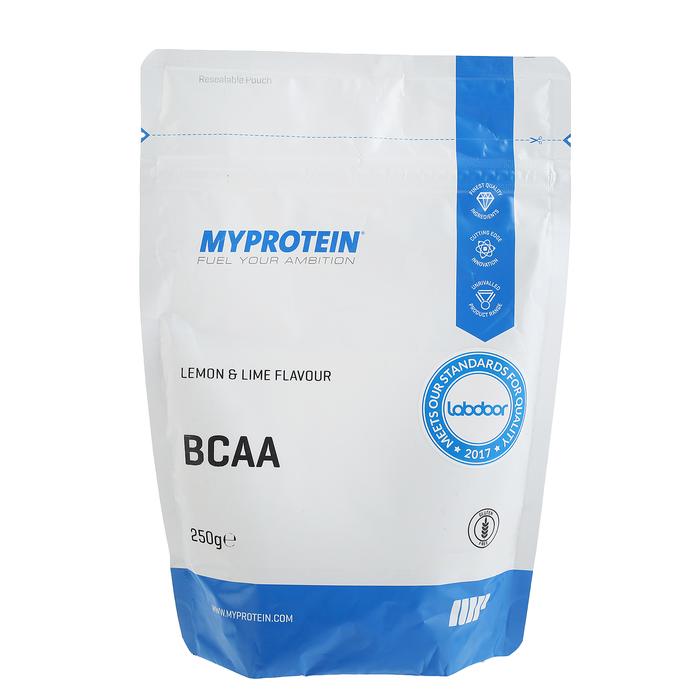 Myprotein BCAA 2:1:1, лимон/лайм, 250 г