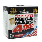 Гейнер Weider Mega Mass 4000, клубника, 7000 г