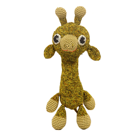 Набор для вязания игрушки 'Жираф Африка' 16*12 см Ош