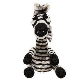 Набор для вязания игрушки 'Зебра Тельняшка' 21*10 см Ош