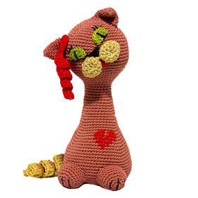 Набор для вязания игрушки 'Киска Кети' 18*8 см Ош