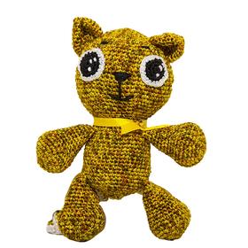Набор для вязания игрушки 'Котенок Рыжий' 16*13 см Ош