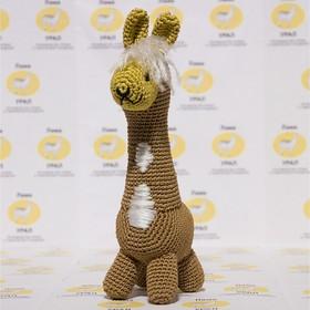 Набор для вязания игрушки 'Лама Фирмачка' 24*7 см Ош