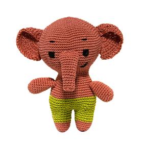 Набор для вязания игрушки 'Слоненок Сима' 15*13 см Ош