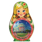 "Доска сувенирная матрёшка ""Екатеринбург №2"", 14,9х23см"