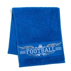 "Полотенце махровое Collorista ""Football""  30х70 см, 100% хлопок, 370 гр/м2"