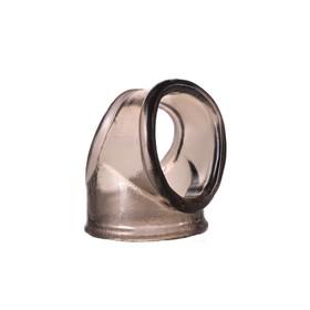 Кольцо Toyfa XLover, прозрачное, (0T-00009593), черный Ош