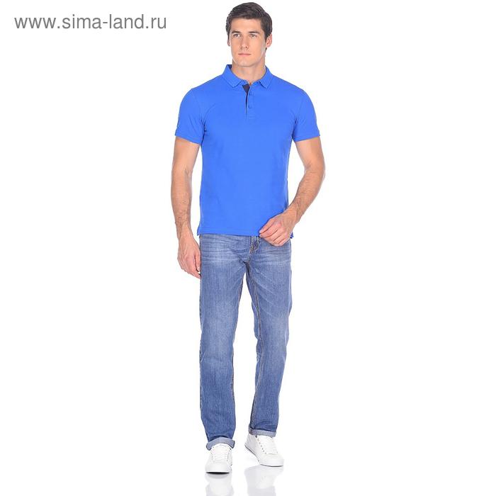 Джинсы мужские David 10549-2 цвет синий, р-р 54