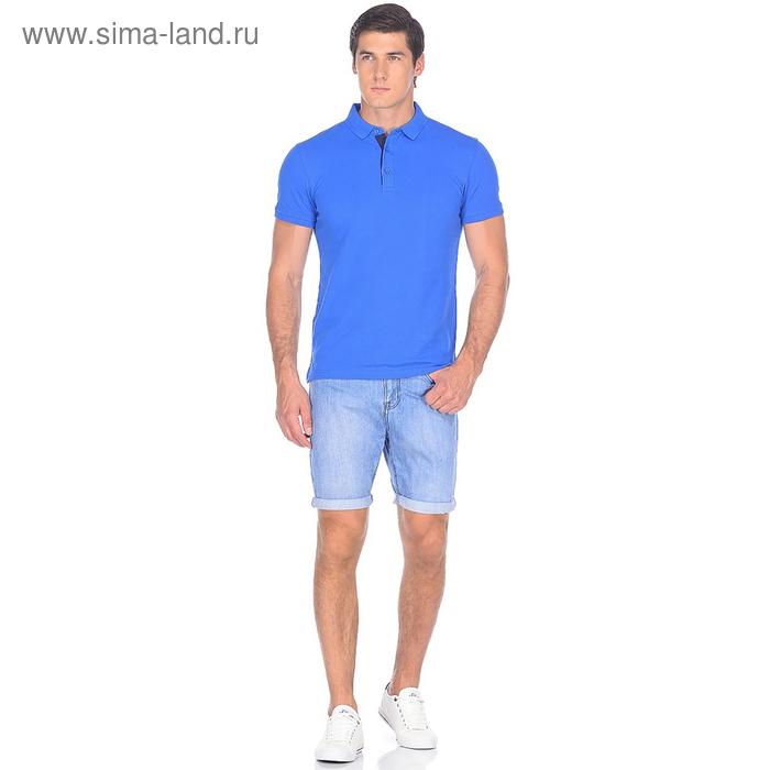 Шорты джинсовые мужские 10562, цвет светло-синий, р-р 54