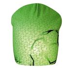 Шапка детская трикотажная, размер 54–56, цвет зелёный