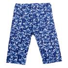 Бриджи для девочки, рост 110 см, цвет синий DS0057/10