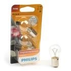 Галогенная лампа PHILIPS, P21W (BA15s), 12 В, 21 Вт, , 2 шт., 12498 B2