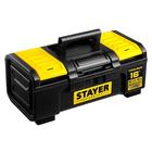"""Ящик для инструмента  STAYER Professional """"TOOLBOX-16"""", пластиковый"""