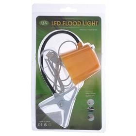 Лампа на прищепке 5xLED 'Абажур' USB желтый 6,7x7,7x36 см Ош
