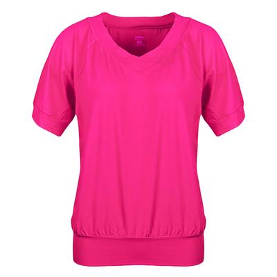 Майка женская (футболка) 021F33 цвет фуксия, р-р 52 (XXL)