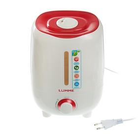 Увлажнитель воздуха LUMME LU-1556, ультразвуковой, 2.5 л, 20 Вт, красный гранат Ош