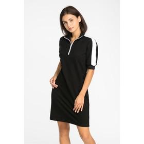 Платье спортивное MINAKU, размер 42, цвет чёрный