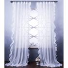 "Комплект штор ""Бэтси"", размер 200х270 см, белый"