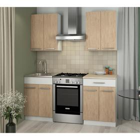 Кухонный Гарнитур Алиса 1 Дуб Сонома/Белый 1200