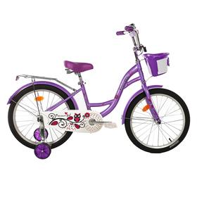 "Велосипед 20"" Graffiti Premium Girl RUS, цвет сиреневый"