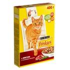 Сухой корм FRISKIES для кошек, мясо/курица/овощи, 400 гр