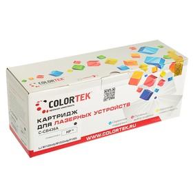 Картридж Colortek HP CB436A, 2000 копий, черный Ош