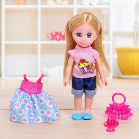 Кукла модная 'Лида малышка' с аксессуарами МИКС Ош