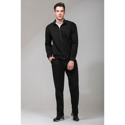 Костюм спортивный мужской MINAKU, размер 56, цвет чёрный