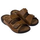 Туфли летние открытые  мужские арт. LAM20341-07 (коричневый) (р.41)