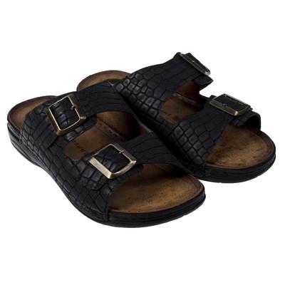 Туфли летние открытые мужские арт. LAM20342-01, цвет серый, размер 43