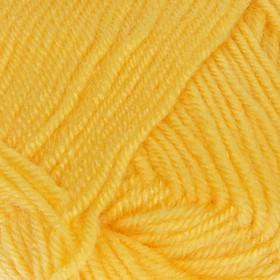 Пряжа 'Bambino marvel' 25% шерсть, 75% акрил 130м/50гр (6410 жёлтый) Ош