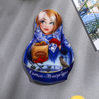 Магнит в форме матрёшки «Санкт-Петербург»