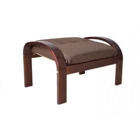 """Подушка-сиденье для пуфа """"Сайма"""", ткань, цвет кофейный"""