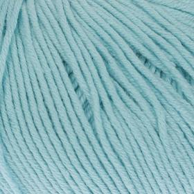 Пряжа 'Baby Cotton' 60% хлопок, 40% полиакрил 165м/50гр (3451 голубой) Ош