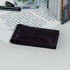 Визитница 17-05 Textura, 11*1*7, 1 ряд, 18 листов, фиолет шик/фиолет кайман-49